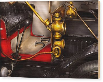 Car - Model T Ford  Wood Print by Mike Savad
