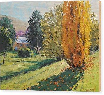 Carcor Autumn Wood Print by Graham Gercken