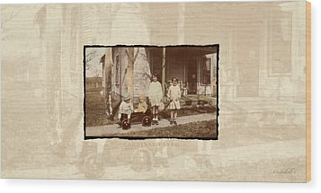 Wood Print featuring the photograph Cardinal Flyer by Ron Crabb