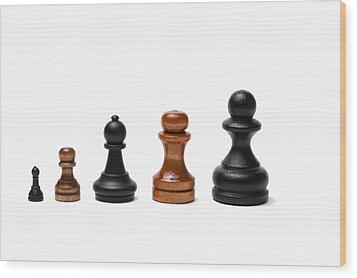 Career - Featured 2 Wood Print by Alexander Senin