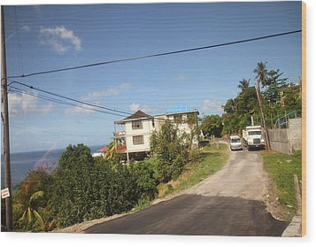 Caribbean Cruise - Dominica - 121230 Wood Print by DC Photographer