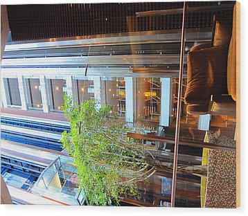 Caribbean Cruise - On Board Ship - 121294 Wood Print by DC Photographer