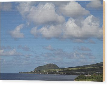 Caribbean Cruise - St Kitts - 1212156 Wood Print by DC Photographer