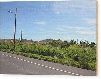 Caribbean Cruise - St Kitts - 121243 Wood Print by DC Photographer