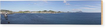 Caribbean Cruise - St Kitts - 12125 Wood Print by DC Photographer
