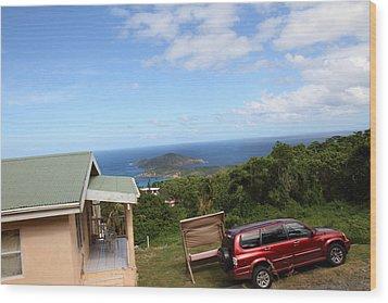 Caribbean Cruise - St Thomas - 1212172 Wood Print by DC Photographer