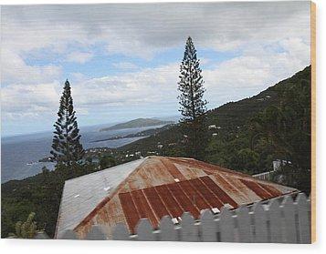 Caribbean Cruise - St Thomas - 1212193 Wood Print by DC Photographer
