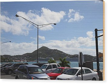 Caribbean Cruise - St Thomas - 121254 Wood Print by DC Photographer