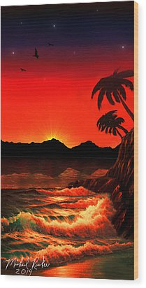 Caribbean Islands Wood Print