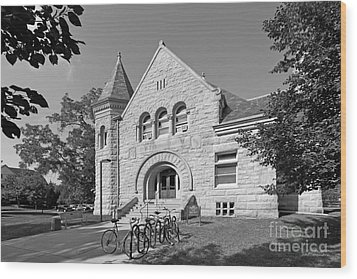Carleton College Scoville Hall Wood Print by University Icons