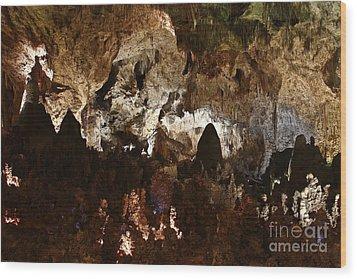 Carlsbad Caverns #2 Wood Print by Kathy McClure