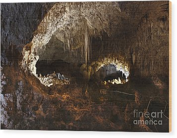 Carlsbad Caverns #3 Wood Print by Kathy McClure