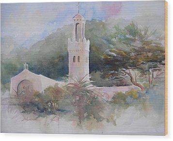 Carmelite Monastery  Wood Print by John  Svenson