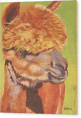 Carmencita Wood Print by Mary McInnis