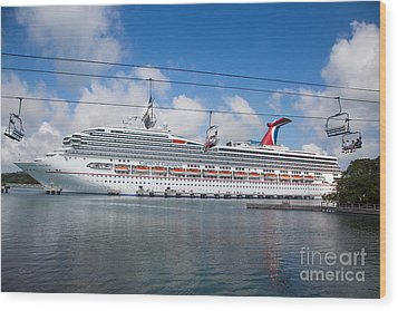 Carnival Conquest Wood Print by Rene Triay Photography