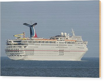 Carnival Ecstasy Wood Print by Bradford Martin