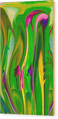 Carnivorous Wood Print