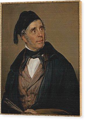 Carnovali Giovanni Know As Piccio Wood Print by Everett