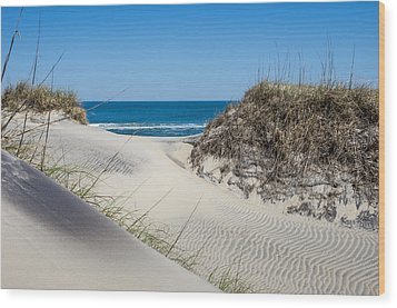 Wood Print featuring the photograph Carolina Blue by Gregg Southard