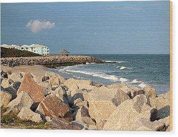 Wood Print featuring the photograph Carolina Coast by Cynthia Guinn