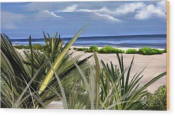 Carolina Dunes Wood Print