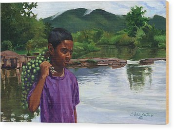 Caroni Chennette Wood Print by Colin Bootman