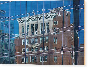 Carpenters Building Wood Print