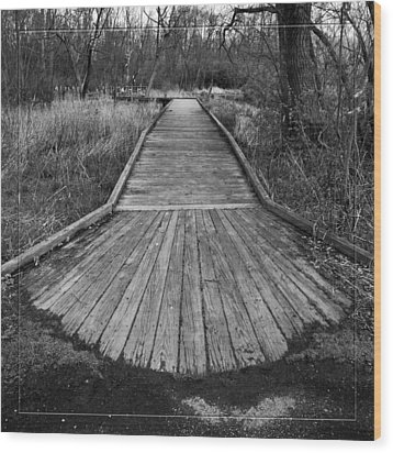 Carriage Hill Boardwalk A Wood Print