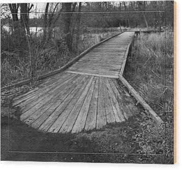 Carriage Hill Boardwalk B Wood Print