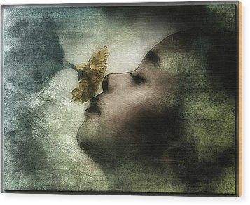 Carried Away By A Scent Wood Print by Gun Legler