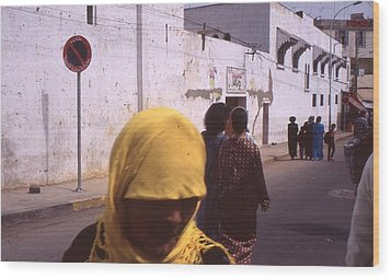 Casablanca 1996 Wood Print by Rolf Ashby