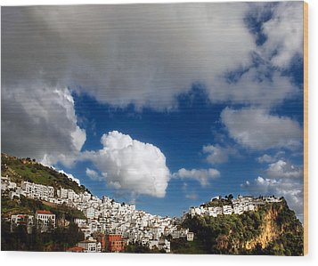 Casares In March Wood Print