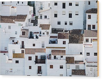 Casares-on-sunday Wood Print