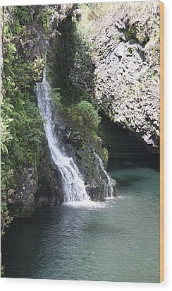 Wood Print featuring the photograph Cascading Waterfalls by Bruce Bley