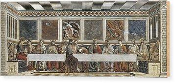 Castagno, Andrea Del 1423-1457. Last Wood Print by Everett