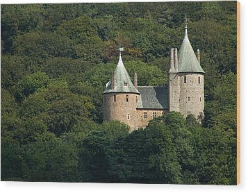 Wood Print featuring the photograph Castell Coch by Jeremy Voisey