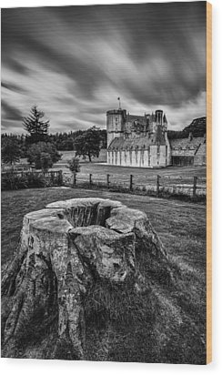 Castle Fraser Wood Print by Dave Bowman