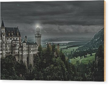 Castle Neuschwanstein II Wood Print