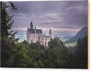 Castle Neuschwanstein Wood Print by Patrick Boening