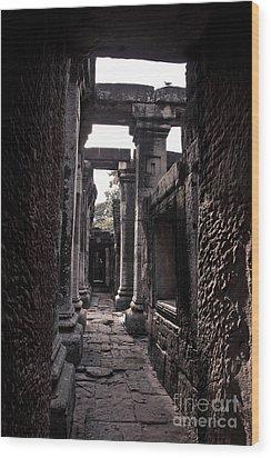 Castle Wood Print by Thammasak Kanjananul