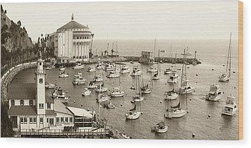 Catalina Island. Avalon Wood Print