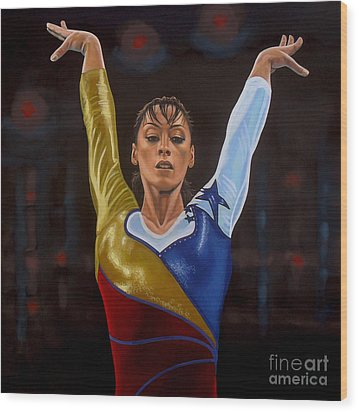 Catalina Ponor Wood Print by Paul Meijering