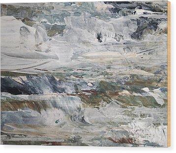 Catch The Spray Wood Print by Nancy Kane Chapman
