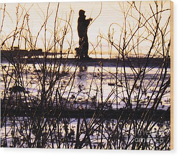 Wood Print featuring the photograph Catching The Sunrise by Robyn King