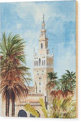 Catedral De Sevilla Wood Print