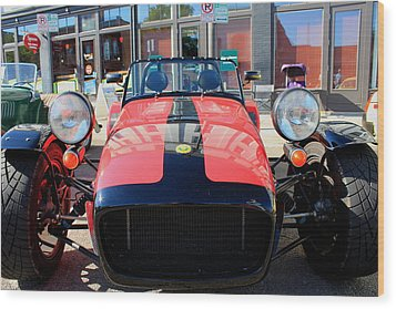 Caterham Super 7 Wood Print