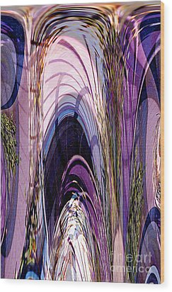 Cathedral 1 Wood Print by Ursula Freer