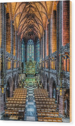 Cathedral Chapel Wood Print by Adrian Evans