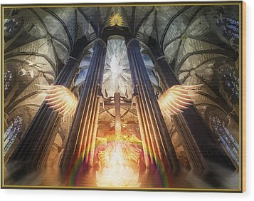 Cathedral Wood Print by Harald Dastis