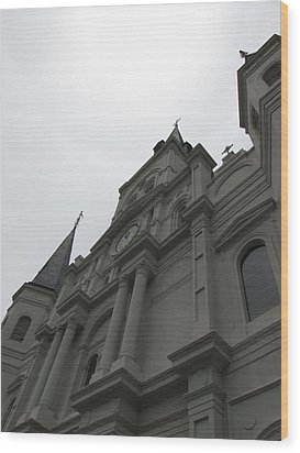 Wood Print featuring the photograph Cathedral II by Beth Vincent